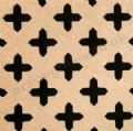 Cross Shaped 18mm Unfinished MDF Screening Panel Grille Sheet 1830mm x 610mm x 4mm
